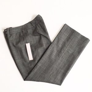 ✨NWT✨Ann Taylor | Black & White (Grey) Plaid Pants